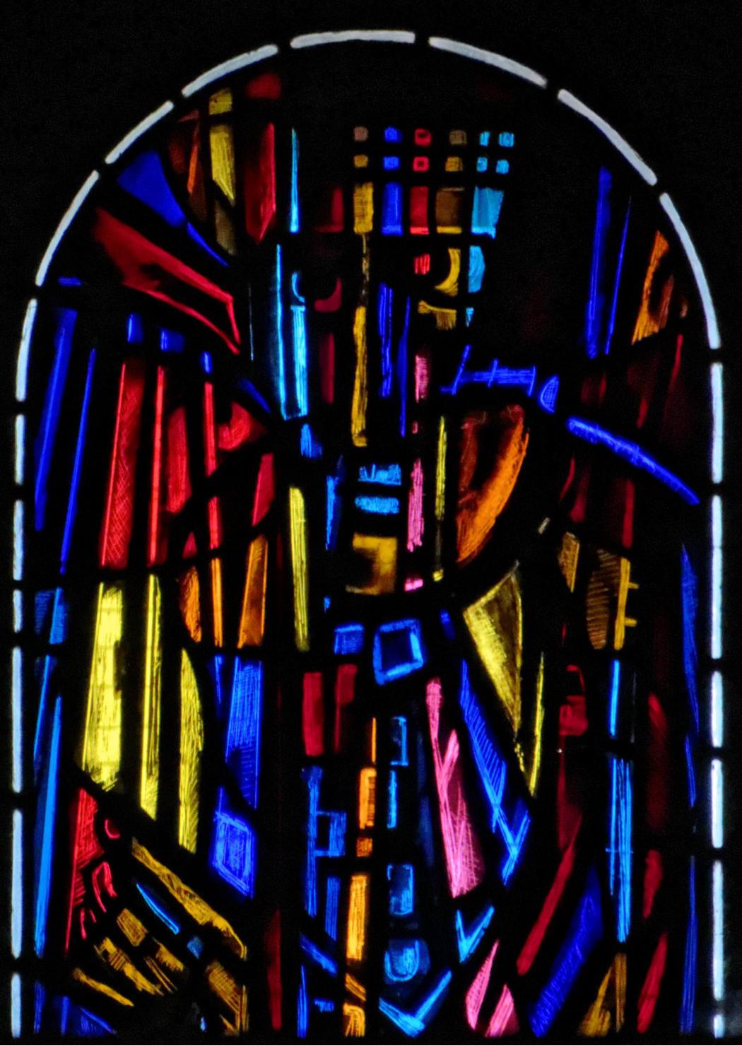 vitrail  vitraux de la chapelle notre