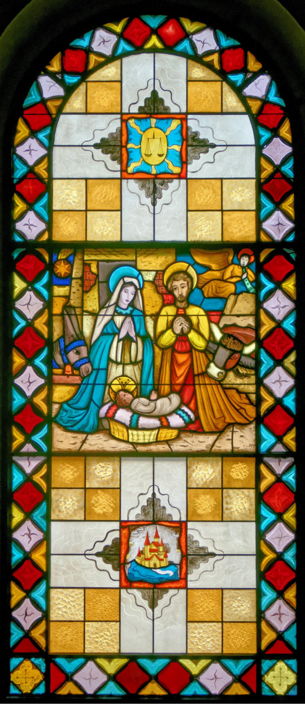 Vitrail vitraux de l 39 glise saint gorgon de porsel dans for C m r bagnolet