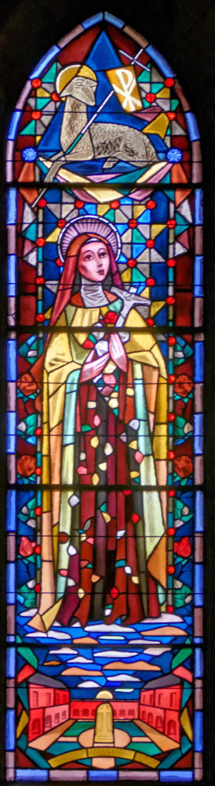 Vitrail vitraux de l 39 glise saint pierre et saint paul for C m r bagnolet