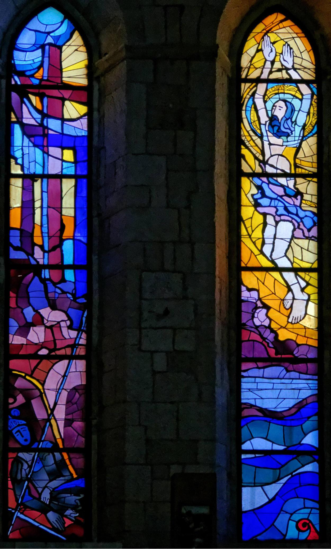 Vitrail vitraux du monast re des dominicains dubrovnik for C m r bagnolet