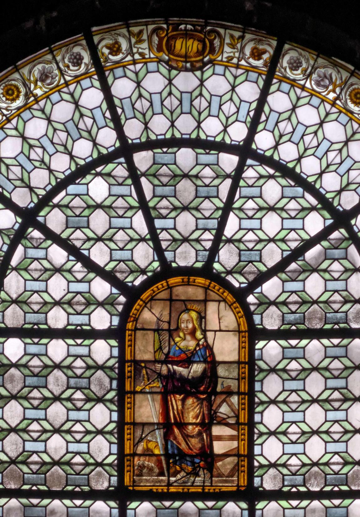 Vitrail vitraux de l 39 glise saint sulpice paris for C m r bagnolet