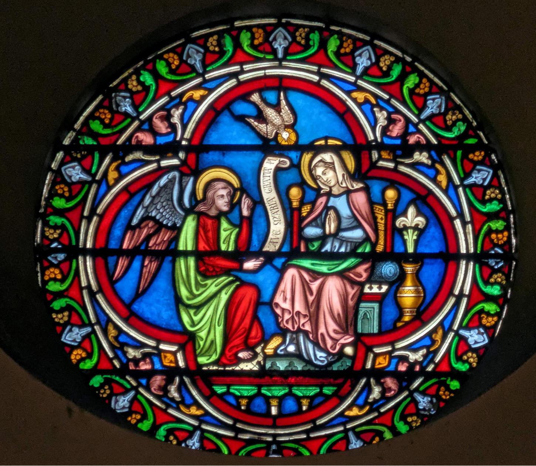 Vitrail vitraux de l 39 glise saint martin des champs paris for C m r bagnolet
