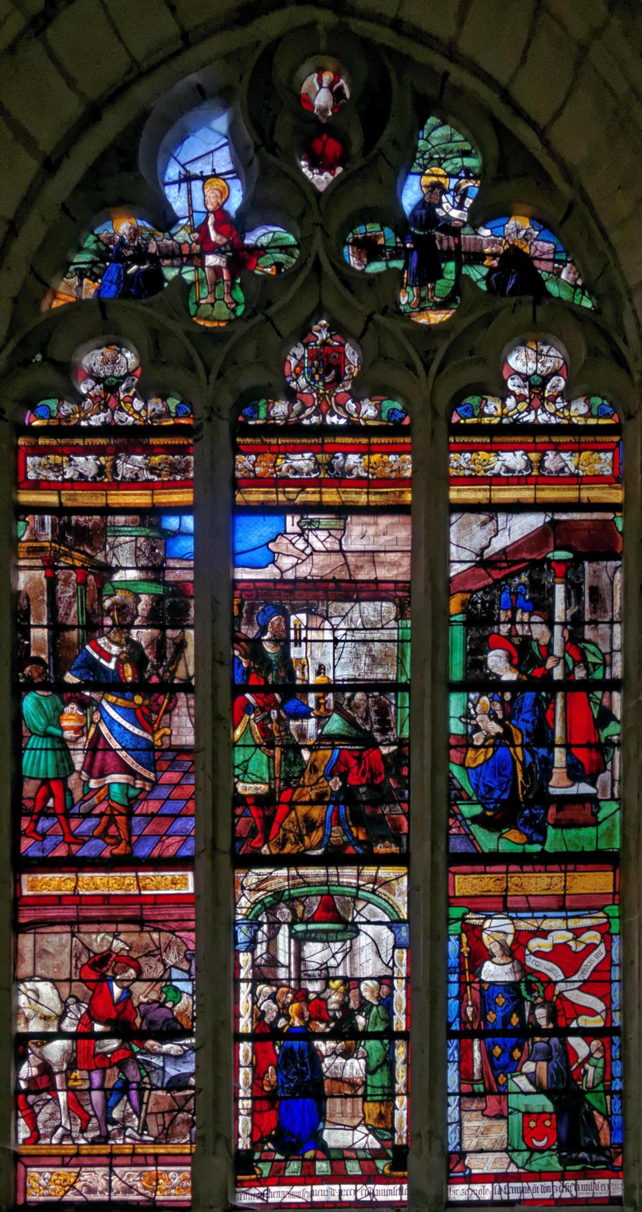 Vitrail vitraux de l 39 glise saint aventin creney pr s for Creney pres troyes