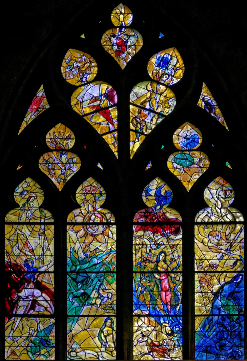 Vitraux Metz vitraux de la cathédrale de metz en moselle marc chagall