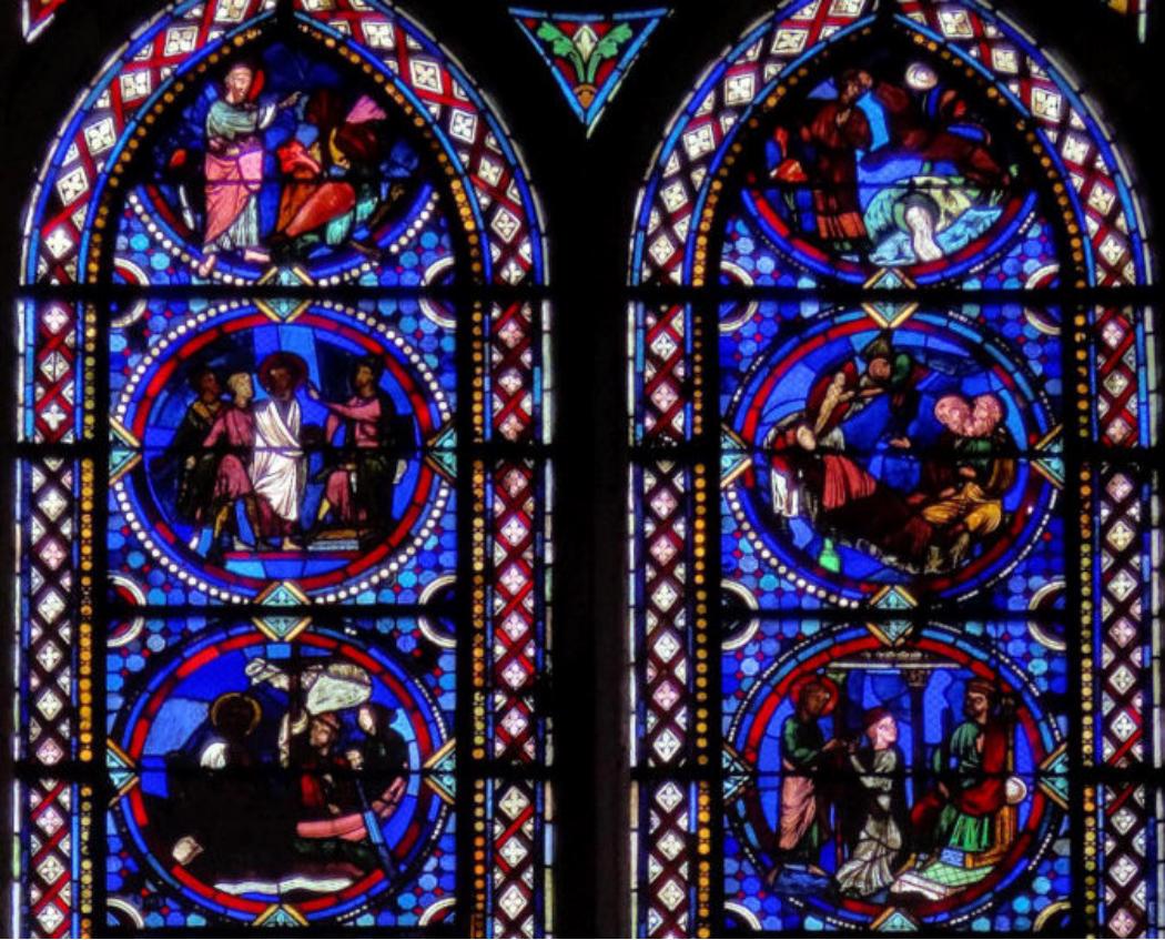 Vitrail vitraux de la cath drale de sens dans l 39 yonne for Plan de sens dans l yonne
